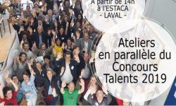 Ateliers en parallèle du Concours Régional TALENTS