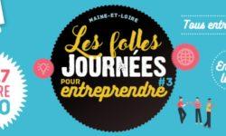 Les folles journées pour entreprendre 2020 en Maine et Loire