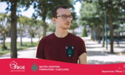 Matéo GRIPPON | leaflong, une marque de mode Angevine