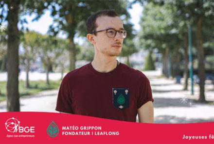 Matéo GRIPPON   leaflong, une marque de mode Angevine
