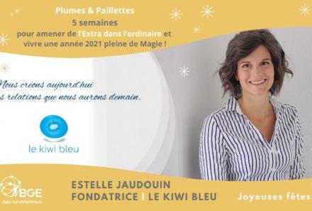 Estelle JAUDOUIN   le kiwi bleu