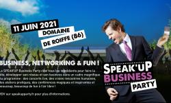 Evénement ! SPEAK'UP BUSINESS PARTY | Domaine de Roiffé (86)