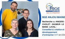 OFFRE D'EMPLOI : Conseiller(s) création et développement d'entreprise (H/F)