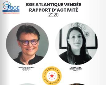 Rapport d'activité BGE ATLANTIQUE VENDEE 2020