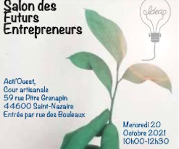 Salon des futurs entrepreneurs BGE Saint-Nazaire